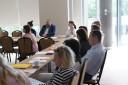 Zdjęcia ze spotkania z przedstawicielami agencji zatrudnienia z terenu województwa warmińsko-mazurskiego 2 czerwca 2017r.