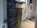 Zdjęcie nr 4 - rollupy instytucji zaangażowanych w organizację Europejskich Dni Pracodawcy