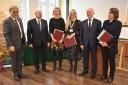 Odznaczeni dyplomem Marszałka Województwa: Giszterowicz Karolina, Pankowska Karina, Zamożniewicz-Bałdyga Joanna