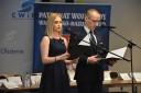 Prowadzący galę Izabela Smugorzewska i Daniel Kalski