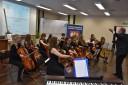 Występ grupy wiolonczelistów Cellofuny